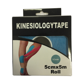 Kinesiologytape Blauw