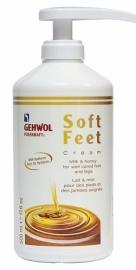 Gehwol Fusskraft Soft Feet creme 500ml