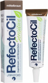 Refectocil sensitive midden bruin tube 15ml