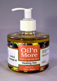 Oil'n More Healing Hot body & massage oil 300ml