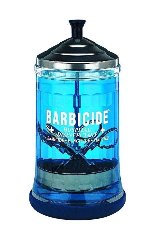 Barbicide  Desinfectieflacon Roestvrijstaal Edelstaal dompelaar 630ml