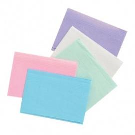 Dental Towel blauw 125st