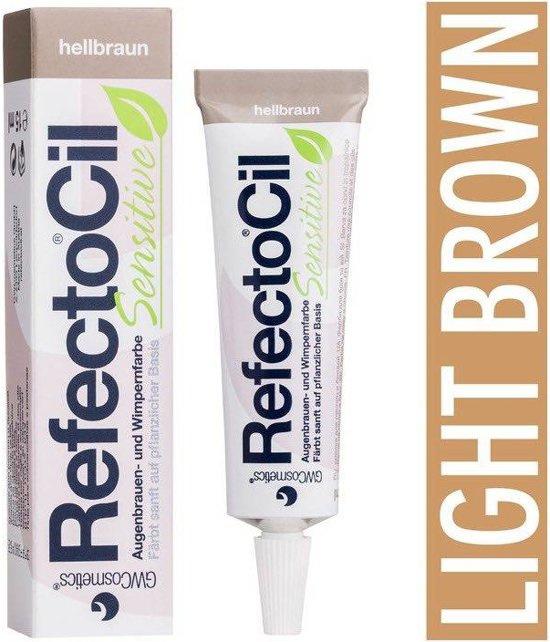 Refectocil sensitive licht bruin tube 15ml