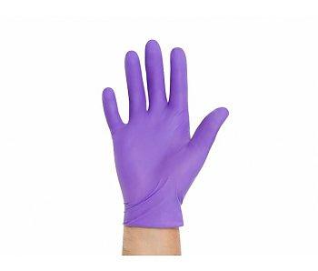 Abena Nitrile Handschoenen lila maat S  100st.