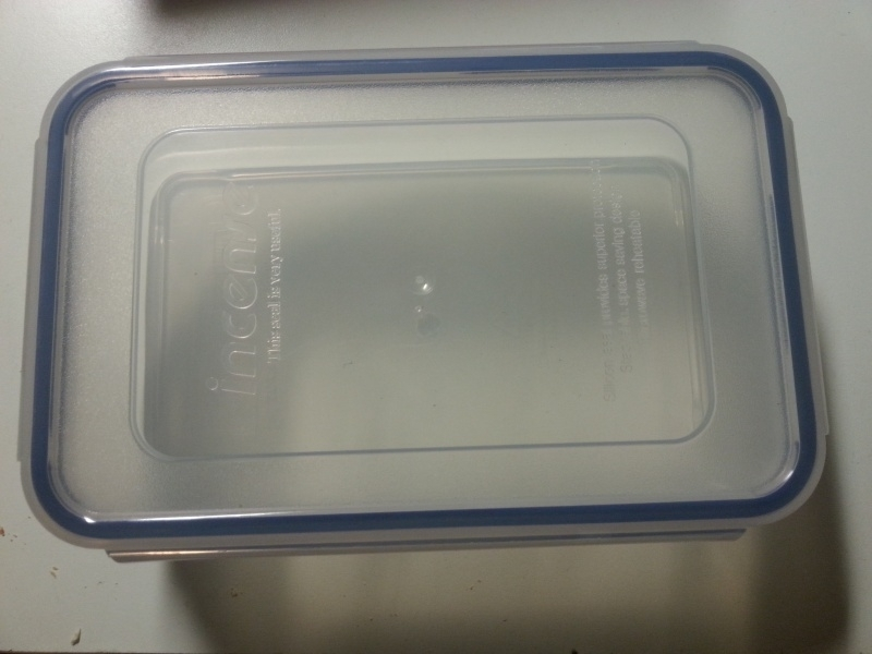Selflock Instrumentendesinfectiebak 800 ml.