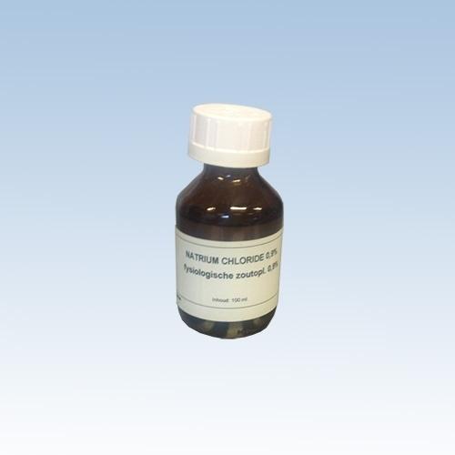 Fysiologisch zoutopl. 0,9% 100ml