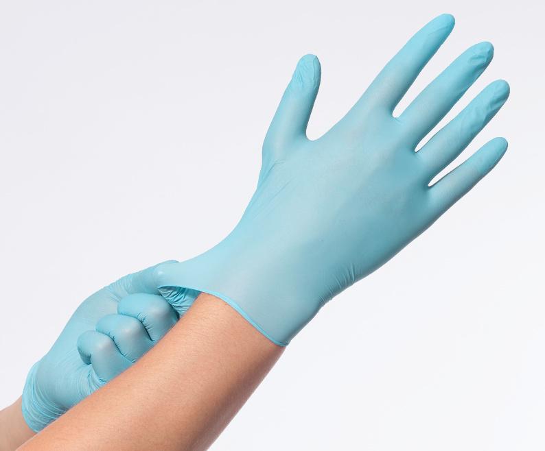 Soft Nitril Easyglide & Grip mt M blauw