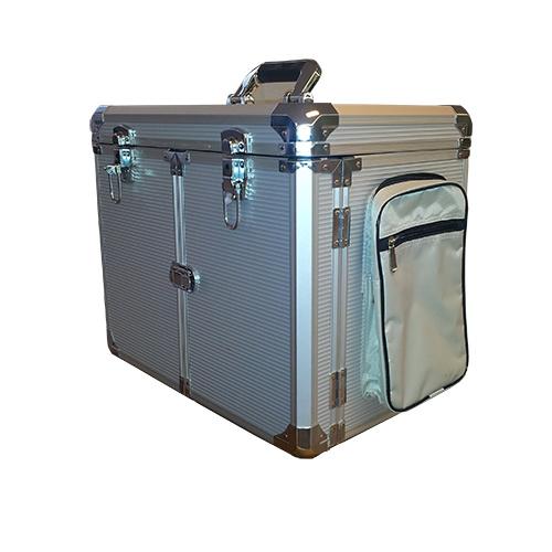 Pedicurekoffer Alluminium met trolley
