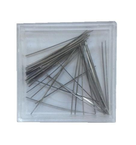 Spanners metaal (veertjes / 50 stuks).
