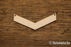 V-vorm 10cm