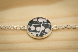 "Armband ""Gaudi's roze bolletjes"""