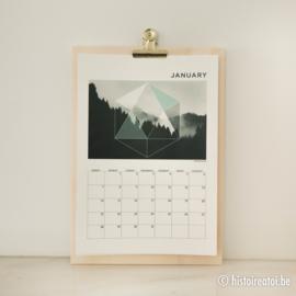 Kalender 2018 - Geometrisch design