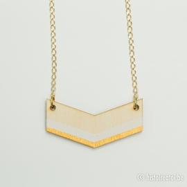 V-hanger wit&goud