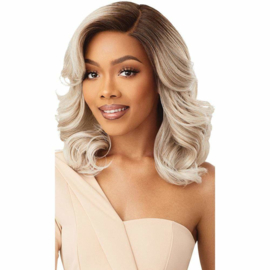 Outre Synthetic Swiss HD Lace Front Wig - LEYLA