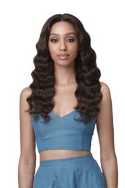 Bobbi Boss 100 Unprocessed Human Hair 360 13X4 HD Lace Frontal Wig - NAHLA