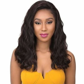 """Sensationnel Bare & Natural 100% Brazilian Virgin Remi Unprocessed Human Hair Full Hand-Tied Swiss Lace Wig - BODY WAVE 22"""""""