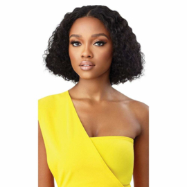 """Outre MyTresses Gold Label Human Hair Leave Out Wig - Dominican Curly 10"""""""
