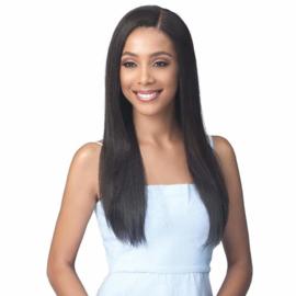 "Bobbi Boss Bundle Human Hair Wig - MHLF508 Natural Straight 24"""