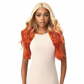 Outre Color Bomb Synthetic Lace Front Wig - Karelia