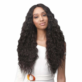 Bobbi Boss Synthetic Lace Front Wig - MLF463 Olive ------ #1B