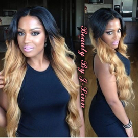 Two Tone Lace Wig