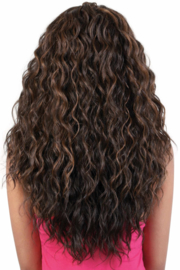 Motown Tress Human Hair Blend 360 Lace Front Wig - HB360L.BAE