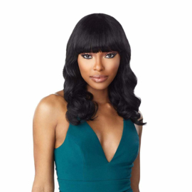 Sensationnel 10A 100% Virgin Human Hair Wig Body Wave 16""