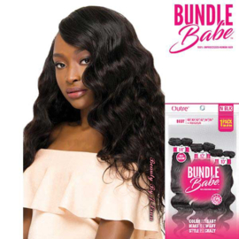 Outre 100% UNPROCESSED Human Hair Weave Kit BundleBABE Body