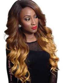 Natural Wavy Front Lace Wig