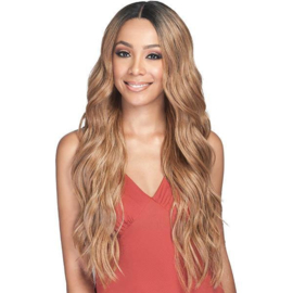 Bobbi Boss Human Hair Blend Deep Part Swiss Lace Front Wig - MBLF210 MORA - Unbeatable