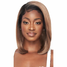"Outre Perfect Hairline FAUX SCALP HD Transparent 13"" x 4"" Lace Front Wig Skye"