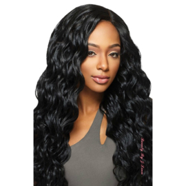 "Outre Purple Pack Brazilian Boutique Virgin Body 18"", 20"", 22"" + 4"" Deep Lace Closure Kit"