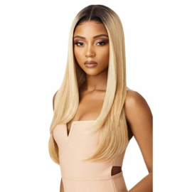 Outre Melted Hairline Collection - Swiss Lace Front Wig Aaliya ——— #DRFF4/Golden Honey