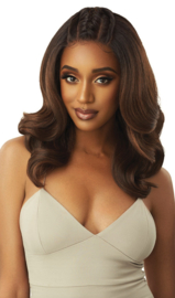 Outre Perfect Hairline HD Transparent 13x6 Lace Front Wig Julianne