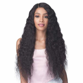 """Bobbi Boss 100% Unprocessed Brazilian Virgin Remy Bundle Hair Full Lace Wig - BNGLWNC32 NATURAL CURL 32"""""""