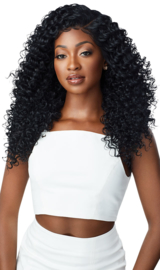 "Outre Perfect Hairline FAUX SCALP HD Transparent 13"" x 6"" Lace Front Wig Dominica"