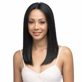Bobbi Boss Indiremi 100% Virgin Remy Hair 13x4 Deep Lace Wig - MHRLF005 NATURAL STRAIGHT 18