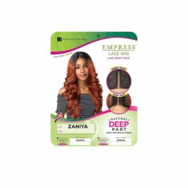 Sensationnel Empress Synthetic Lace Front Wig - Zaniya