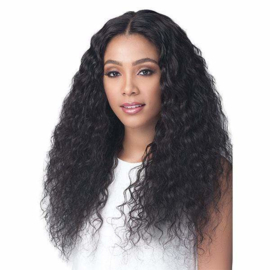 """Bobbi Boss 100% Unprocessed Brazilian Virgin Remy Bundle Hair Full Lace Wig - BNGLWNC28 NATURAL CURL 28"""""""