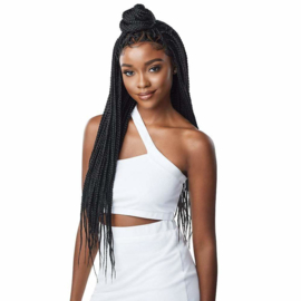 "Outre Synthetic 13"" x 4"" Lace Front Wig - Knotless Triangle Part Braids"