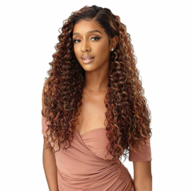 Outre Melted Hairline Synthetic Lace Front Wig - Constanza