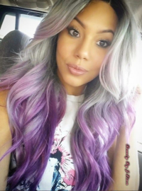 Wavy Ombre Lace Wigs