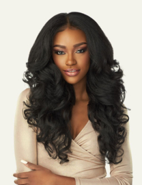 Sensationnel Cloud 9 WhatLace? Pre-Plucked NEW HD-LACE Front Wig Latisha LDW001 ------ #1B
