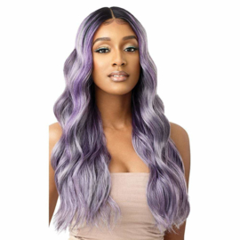 Outre Color Bomb Synthetic Lace Front Wig - Charleston