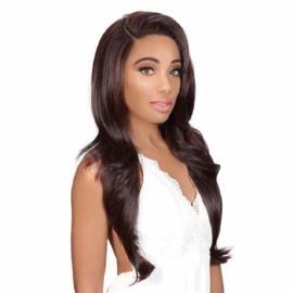 Zury Flawless Wide 13x4 HD Transparent Swiss Lace Front Wig SW-FP LUI