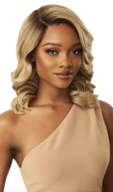 Outre Premium HD Transparent Swiss I -Parting Lace Front Wig Davita