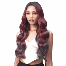 Bobbi Boss Boss Lace Synthetic Lace Front Wig - MLF554 Rosewood