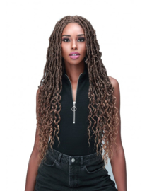 Bobbi Boss Synthetic Hair Lace Front Wig - MLF620 NU LOCS FRENCH TIPS 3