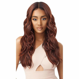 Outre Synthetic HD Transparent Lace Front Wig - Georgette