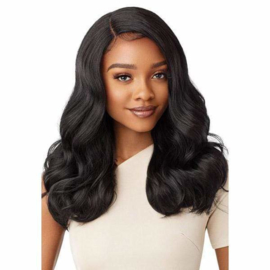 Outre Synthetic Pre-Plucked HD Transparent Lace Front Wig Zephany